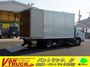 いすゞ エルフトラック ワイドロング アルミバン サイドドア 格納パワーゲート 2t