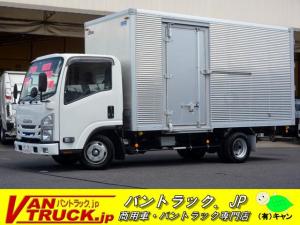 いすゞ エルフトラック 標準幅 ロング アルミバン サイドドア 2t積 キャブ交換有