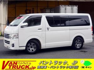 トヨタ レジアスエースバン ロング スーパーGL ガソリン ナビ 小窓 バックアイ 3型