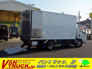 いすゞ エルフトラック 標準幅 ロング 冷凍車 サイドドア 格納パワーゲート 3t積