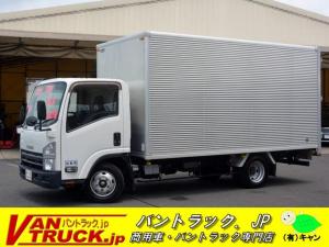 いすゞ エルフトラック ワイドロング アルミバン 積載1800kg リア三枚扉