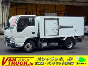いすゞ エルフトラック 10尺 冷凍車 低箱 2t 東プレ 両側サイドドア 低温