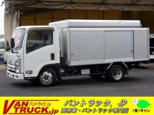いすゞ エルフトラック 標準幅ロング ボトルカー 大型キャリア ラダー MT 2トン 積載2000kg キーレス 左電格ミラー 坂道発進補助 バックカメラ フォグラ