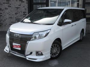 トヨタ エスクァイア Gi TRDフルエアロ メモリーナビTV Bluetooth 両側自動ドア レザーシート シートヒーター LEDライト 7人乗り