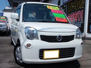 日産 モコ S アイドリングストップ インテリキー 走行8.500キロ