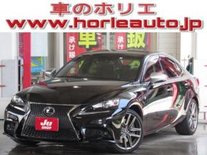 レクサス IS IS200t Fスポーツモードプラス 純正SD地デジ黒本革