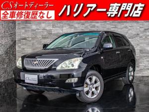 トヨタ ハリアー 240G Lパッケージ 黒革調シート Bカメラ HDDマルチ