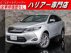 トヨタ ハリアー エレガンス 黒ハーフレザー バックモニター SDナビ 4WD