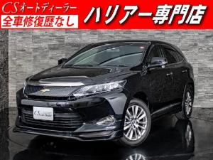 トヨタ ハリアー プレミアム 黒H革 JBL TRDフルエアロ 電動リアゲート