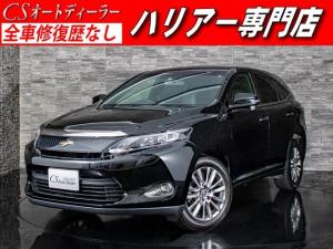 トヨタ ハリアー エレガンス 禁煙車両 黒H革 後席モニター LEDライト