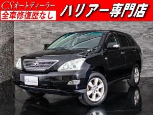 トヨタ ハリアー 240G HDDナビ バックモニター ETC コンビハンドル