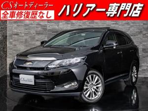 トヨタ ハリアー プレミアム 黒H革 サンルーフ セーフティーセンス