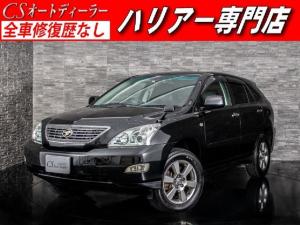 トヨタ ハリアー 240G Lパッケージ 黒本革シート HDDマルチナビ フルセグ バックカメラ ETC シートヒーター