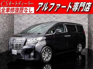 トヨタ アルファード 3.5エグゼクティブラウンジ 黒本革 サンルーフ JBL