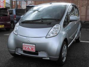 三菱 アイミーブ X 16.0kwh ヒートポンプ式AC LEDライト 急速充電コネクター 200V用充電ケーブル 前席シートヒーター キーフリーシステム ワンオーナー車