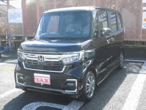 ホンダ N-BOXカスタム L HondaSENSING/両側スライドドア/左側電動スライドドア/バックカメラ/WサイドカーテンSRS/ABS/キーフリーシステム/プッシュスタート/届出済未使用車