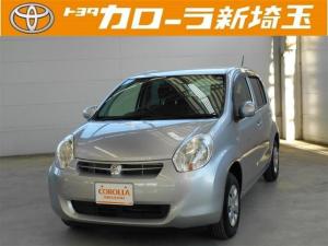 トヨタ パッソ X クツロギ CD再生装置 ABS エアコン 点検記録簿