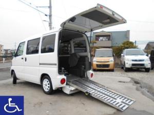 日産 クリッパーバン 福祉車両 スローパー ニールダウン式 電動ウインチ付 4AT