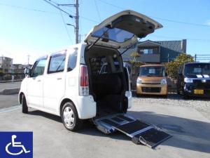 スズキ ワゴンR 福祉車両 スローパー 電動固定式 ナビTV リアシート付