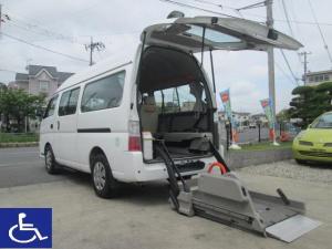 日産 キャラバンバス 福祉車両 2.5チェアキャブ 10人乗り C仕様 車椅子一基
