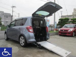 トヨタ ラクティス 福祉車両 電動固定 ニールダウン式 スローパー 車椅子移動車