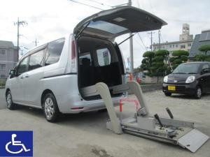 日産 セレナ 20S 福祉車両 電動リフトタイプ 左側オートステップ付 6人乗り8N 車椅子移動車 タイミングチェーン ワンオーナー車