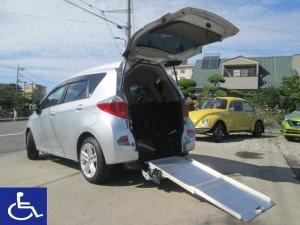 トヨタ ラクティス X 福祉車両 スローパー 電動固定式 車椅子移動車 5人乗り HID ナビ ETC アルミホイール