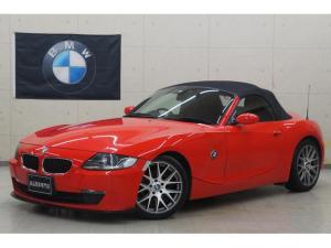 BMW Z4 ロードスター2.5i 後期 新品18AW 新品Fスポ 赤革内装 フルセグナビ Bluetooth バックカメラ