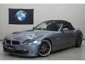 BMW Z4 ロードスター2.5i 最終後期 車高調 WORK19AW マフラー LED フルセグナビ カスタム車