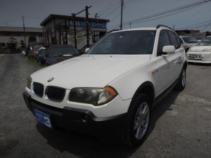 BMW X3 2.5i キーレス 記録簿 ETC バックカメラ 取説