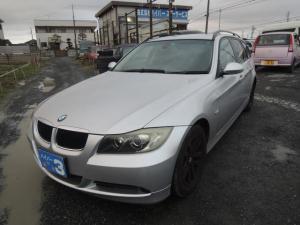 BMW 3シリーズ 320iツーリング 純正ナビ キーレス スペアキー パワーシート ETC 社外ポータブルナビ 地デジワンセグ 純正アルミ タイヤ5分山