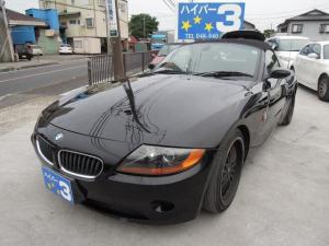 BMW Z4 3.0i タイミングチェーン CD ETC 両側パワーシート タイヤ5分山 革シート 手動オープン