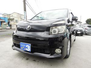 トヨタ ヴォクシー ZS スマートキー2本 ETC 両側パワースライドドア HDDナビ CD DVD再生 バックカメラ フリップダウンモニター 純正アルミ タイヤ6分山 純正ブラック