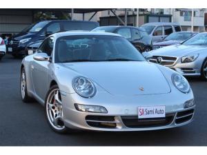 ポルシェ 911 911カレラS 左ハンドル ブラックレザシート バックカメラ