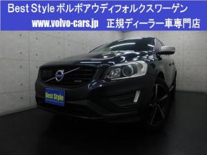 ボルボ XC60 T5Rデザインインテリ 黒革 純ナビ 1オナ 2015モデル