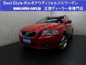 ボルボ V50 2.0eスポーツプラス50台限定車 サンR 純ナビ 1オナ
