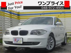 BMW 1シリーズ 116i ETC ドラレコ AUX 純正AW HID