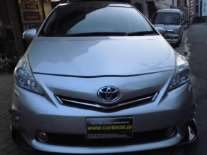 トヨタ プリウスアルファ Gツーリングセレクション Gツーリングセレクションスカイライトパッケージ 7人 デモカー RAYS19インチor20インチAW G'sマフラー GTウィング RS-R車高調 SR(スカイライトルーフ)