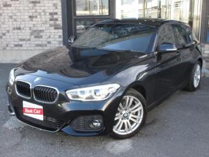 BMW 1シリーズ 118i Mスポーツパッケージ LCIモデル 純正HDDナビ LEDライト 純正アルミ ETC クルコン Aストップ