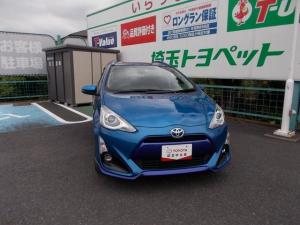 トヨタ アクア X-アーバン フルエアロ メモリーナビバックモニター