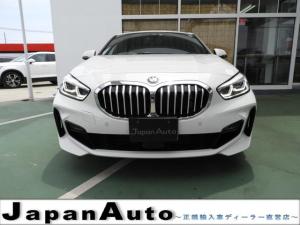 BMW 1シリーズ 118i Mスポーツ ナビ/コンフォートパッケージ LEDヘッドライト ハーフレーザーシート パワーテールゲート アクティブクルーズコントロール 18インチ純正アルミ