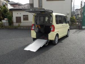 ダイハツ タント L スローパー 福祉車両 純正ナビTV バックカメラ キーレス