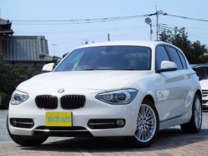 BMW 1シリーズ 116i スポーツ 全国保証 禁煙車 アイドリングストップ 純正ナビ TV バックカメラ HID ETC 社外REMUSマフラー 純正Mスポ16インチアルミホイール