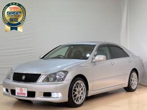 トヨタ クラウン アスリート プレミアムエディション ・ナビ・ワンセグ・Bモニター・シートヒーター・クルーズコントロール・HIDヘッドライト・黒革シート・ETC・パワーシート・サンルーフ・BBSアルミホイール・車検令和4年7月まであります。