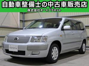 トヨタ サクシードバン UL Xパッケージ SDナビ ワンセグTV DVD再生 ETC キーレス 車検整備付
