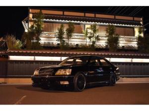 トヨタ クラウンマジェスタ 3.0Aタイプ フルカスタム オールペイント コンプリート 新品ダウンサス 新品社外アルミ    スモークテール ローダウン フルエアロ