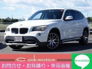 BMW X1 sDrive 18i ストラーダSDナビ 地デジ バックカメラ ETC 社外18インチアルミ プッシュスタート スマートキー HIDライト ドライブレコーダー Bluetooth フォグ