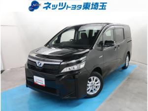 トヨタ ヴォクシー ハイブリッドX 元レンタカー 衝突軽減システム SDナビ