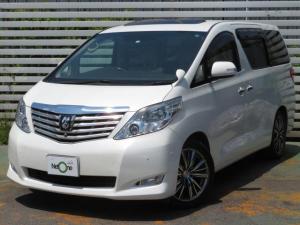 トヨタ アルファード 350G Lパッケージサンルーフツインナビ本革ヒーター両電