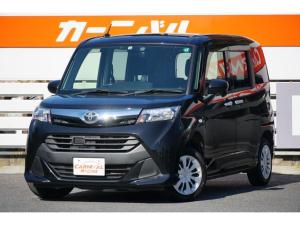 トヨタ タンク X 禁煙車 除菌済み 左側電動スライドドア 社外フルセグメモリーナビ 残価設定も可能